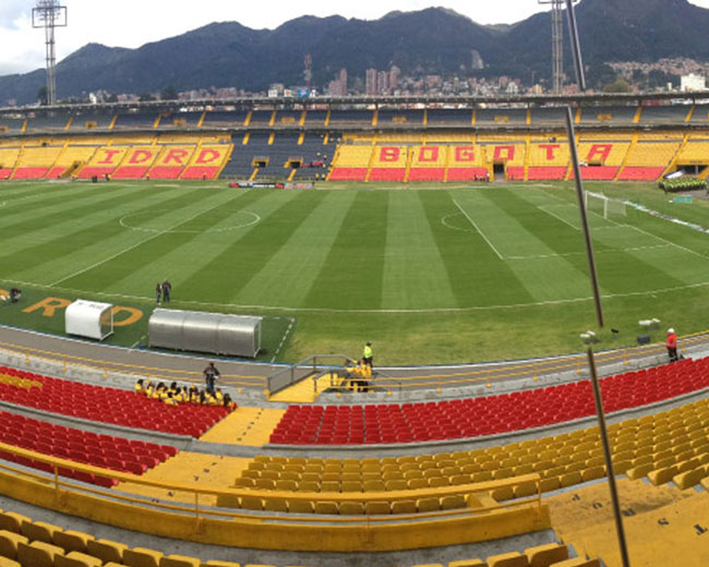 Mantenimiento de grandes escenarios – Bogotá