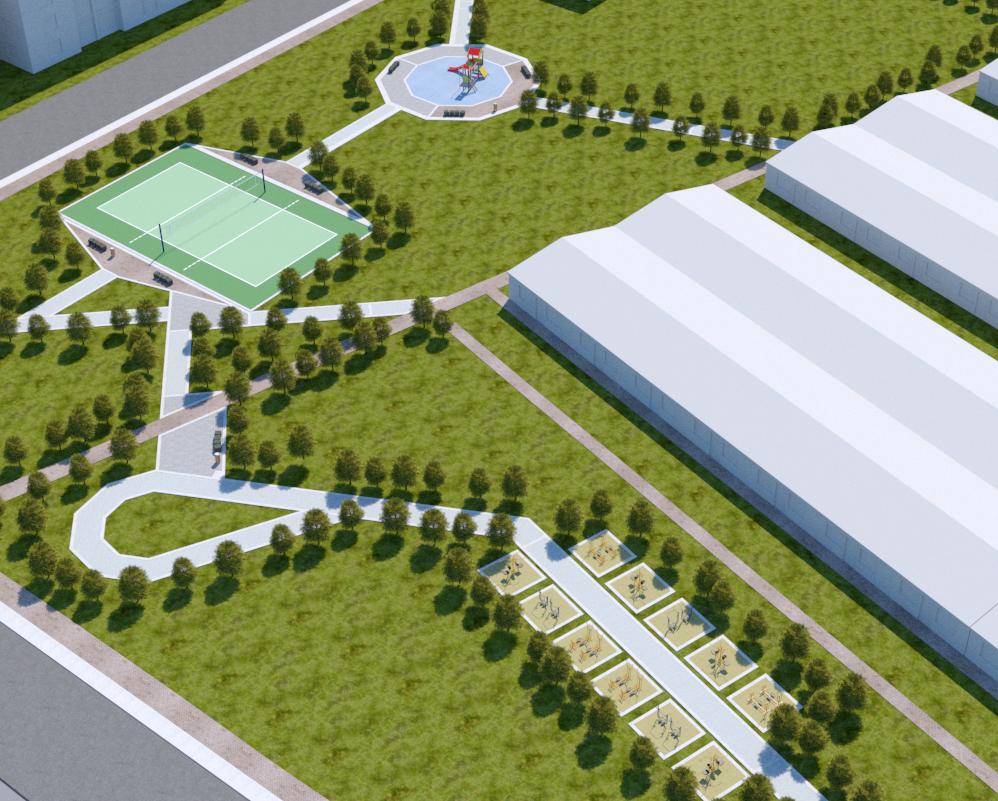 Diseño y construcción de parques recreodeportivos Nariño, Putumayo y Cauca.