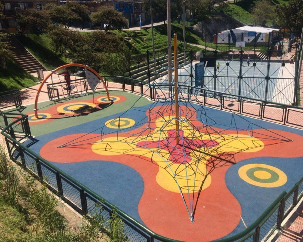Parques recreodeportivos Bogotá- Parque Palermo Sur