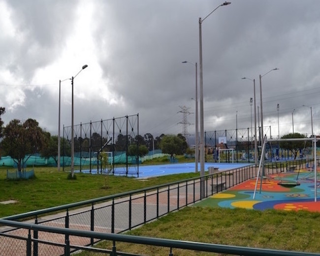 Diseño y construcción parque recreodeportivo Bogotá- Parque La Coruña